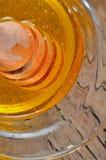 Dipper do mel e do haney Imagem de Stock Royalty Free