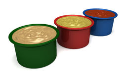 Dipping Sauces Royalty Free Stock Image