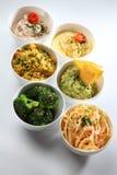 Dips bowls Royalty Free Stock Image