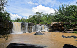 Dipterocarp forest waterfall Stock Photography