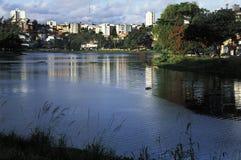 Dique de TororA? ³,萨尔瓦多,巴西 免版税库存照片
