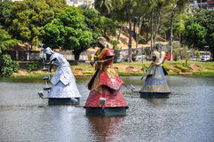 Dique de Tororo, Salvador de Bahia (Βραζιλία) Στοκ Εικόνες