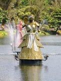 Dique de Tororo, Salvador de Bahia (Brazil). Orixa statues at Dique de Tororo, Salvador de Bahia (Brazil royalty free stock photos