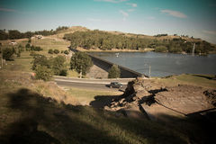 Dique del Fuerte, Tandil. Dam of the Fort, Tandil, Buenos Aires, Argentina Stock Photos