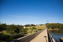 Dique del Fuerte, Tandil. Dam of the Fort, Tandil, Buenos Aires, Argentina Stock Photo