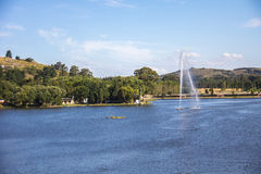 Dique del Fuerte, Tandil. Dam of the Fort, Tandil, Buenos Aires, Argentina Royalty Free Stock Photography