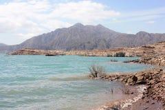 Dique Potrerillos en la provincia de Mendoza Foto de archivo libre de regalías