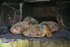 Diríjase el pan hecho Fotos de archivo