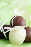 Diríjase los chocolates hechos de Pascua Foto de archivo libre de regalías