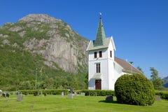 Dirdal Kirke 012 ασβέστιο DN Στοκ Φωτογραφίες
