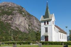 Dirdal Kirkja Royalty Free Stock Image
