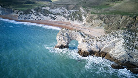 Dirdle Door from the air Royalty Free Stock Photography