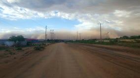 Dire dawa storm stock photo