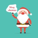 Dire de Santa Image stock