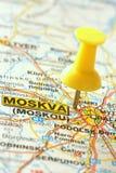 Direcção para Moscovo Imagem de Stock