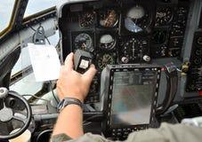 Direcção piloto um plano Fotografia de Stock