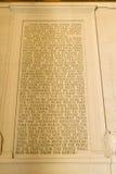 Dirección de Gettysburg Imágenes de archivo libres de regalías