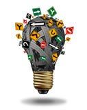 Dirección de las ideas Imagen de archivo