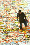 Dirección hacia Londres imágenes de archivo libres de regalías