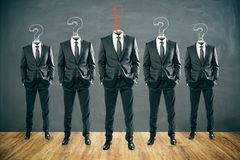 Dirección y concepto del trabajo en equipo libre illustration
