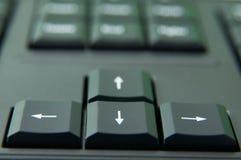 Direcciones del teclado Fotografía de archivo libre de regalías