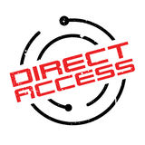 Direct Access rubber stamp Stock Photos