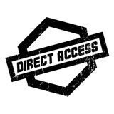 Direct Access rubber stamp Royalty Free Stock Photos