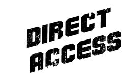 Direct Access rubber stamp Stock Photography