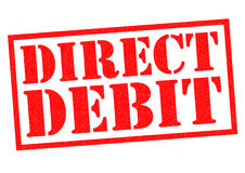DIRECT DEBIT Royalty Free Stock Images