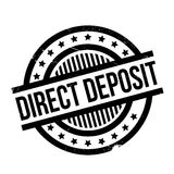 Direct Deposit rubber stamp Royalty Free Stock Photography