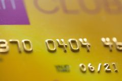 Direct. Debit bank card scamming stolen store royalty free stock photography