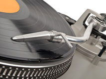Direct drive turntable Stock Image
