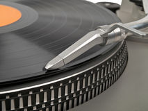 Direct drive turntable Royalty Free Stock Images