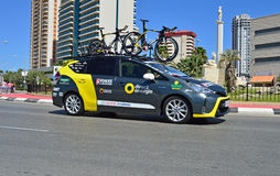 Direct Energie Team Car Royalty Free Stock Photography