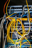 Direct line of network Royalty Free Stock Photo