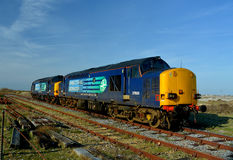 Direct Rail Services train. Nuclear industry Royalty Free Stock Photos