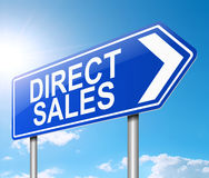 Direct sales concept. Royalty Free Stock Photos