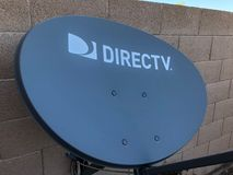Direct TV Satellite Dsh. royalty free stock photos