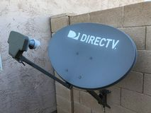 Direct TV Satellite Dsh. royalty free stock images