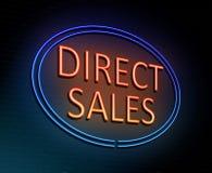 Direct verkoopconcept Royalty-vrije Stock Afbeeldingen