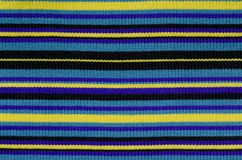Directement ligne texture de tricotage de laines Photo libre de droits