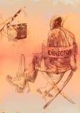 Directeur royalty-vrije illustratie