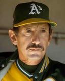 Directeur Billy Martin d'Oakland Athletics photos stock