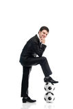 Directeur du football Photos libres de droits