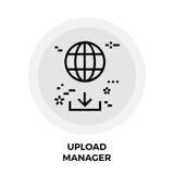 Directeur Line Icon de téléchargement Photos stock
