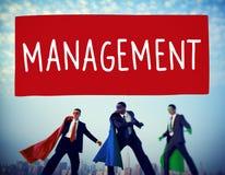 Directeur Managing Customize Concept d'organisation de gestion Image libre de droits