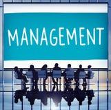 Directeur Managing Customize Concept d'organisation de gestion Images stock