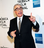Directeur Martin Scorsese royalty-vrije stock afbeelding