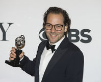 Directeur Sam Gold Wins in 69ste Jaarlijks Tony Awards in 2015 Royalty-vrije Stock Foto's