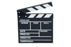 directeur voor de film clapperboard Royalty-vrije Stock Fotografie